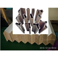 Paper Angle Board Corner Post/ paper pallet edge protector post/ solid paper pad angle corner post