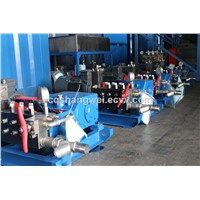 High Pressure Water Blasting Pipe Cleaning Machine