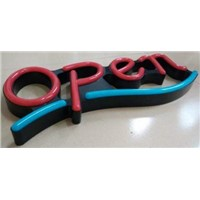 Led Neon Open Sign 3D