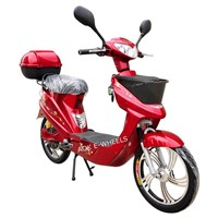 250W Hot Selling Brushless Motor Eelctric Bike with Basket and Pedal (EB-071)