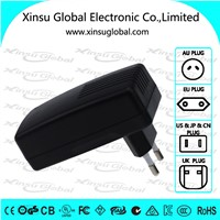 9V 3A wall mount ac dc power adapter