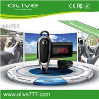 Hot Bluetooth Earphone with FM transmitter Function For  Car