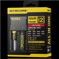 Original Nitecore I2 Universal Intellicharger Charger for 18650 14500 16340 26650 Battery