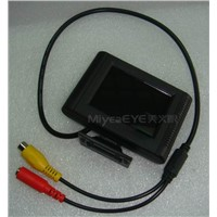 2.4inch Mini CCTV Monitor,Car Overhead LCD Monitor,Car Rearview TFT LCD Monitor