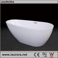Egg shaped Acrylic Portable bathtub for bathroom