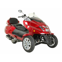 2015 Sunny MC_D300TKB 4 Stroke 300cc Trike Scooter Moped Price 1200usd