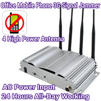 4 Antenna High Power Home Office Prison Mobile Phone GSM CDMA 3G Signal Jammer Blocker 30M Range