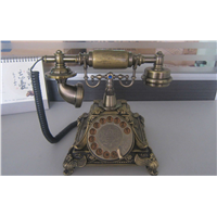 Hot selling Bluetooth creative landline corded telephone, luxury antique corded telephone MS-5501