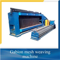 Hexagonal wire mesh machine/gabion wire mesh machine/gabion box machine china factory