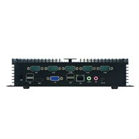 DG-PC10N Fanless Embedded System / Carputer with 6 RS232 dual lan