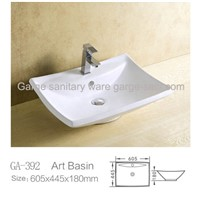 china ceramic sink counter top basins
