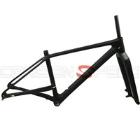 2016 650B 27.5er plus mountain bikes carbon frame