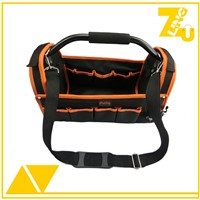 2016 Heavy duty electrician tool bag with steel handle