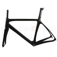 T800 super light DI2 carbon road bike frame/fork/seatpost/clamp