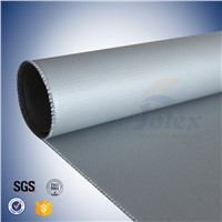 0.44mm silicone coated giberglass fabric for engineer thermal insulation