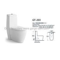 Bathroom toilets toilet seat one piece toilet