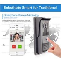 AlyBell Wireless Intercom Doorbell Waterproof WiFi Smart Door Bell