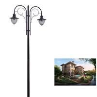 cheap solar energy courtyard light post (YLDG-U)