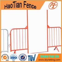 2.5Mtr Wide Walkthrough Barrier With Spring-loaded Gate