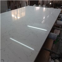 Carrara White 30mm Thickness Artificial Marble Quartz Stone