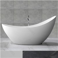 Freestanding Solid Surface Modern Bathtub