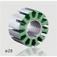 Customized Brushless DC motor stator and rotor core with laminated silicon steel 0.2/0.35/0.5mm