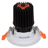 Aluminum LED Light Cover+MR16 Reflector, Downlight White Trim 105mm Size Adjustable LED Light Ring,
