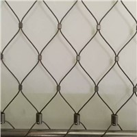 X-Tend Stainless Steel Wire Rope Mesh, Hand Woven Mesh