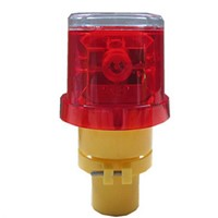 Hot sale solar warning light, solar LED flashing light,solar traffic cone light