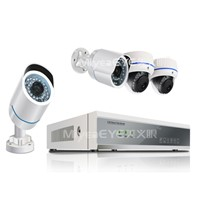 PLC Camera Network DVR Home Security System,network dvr kits 720P/960P/1080P