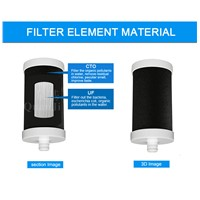 Home Use Faucet Water Filter With Activated Carbon Filter+UF