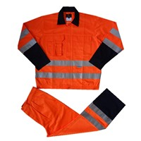 reflective cotton workwear suit