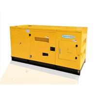 200KVA water cooled low noise diesel generators with AC alternator