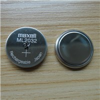 Maxell ML2032 Rechargeable Lithium battery
