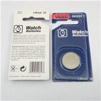 Sony CR2032 battery in blister package