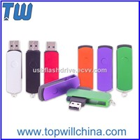 Colorful Twister USB Flashdrive Thumb Drive with Free Key Ring to Carry