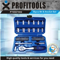 36pcs New Designed Bits and Scokets Set for repairing