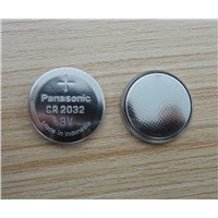 Panasonic CR2032 lithium battery made in Indonesia