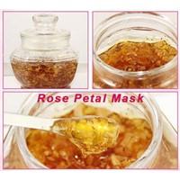 Rose petal mask OEM  petal facial mask