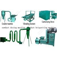 Hot sale Charcoal Production line