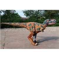 Simulation Realistic Walking Dinosaur Costume Human Wear Dinosaur Suit