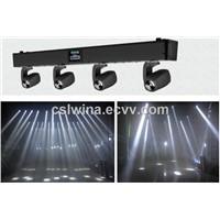 White/RGBW 4 heads 10w led moving head beam light