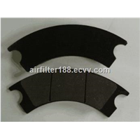 heavy truck ZL40 rubber brake pad supply/factory direct sell