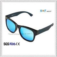 Cheap Women Stylish Prescription Fashion Sun Glasses with Blue Lens