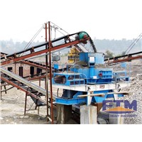Artificial Construction Sand Making Crusher Plant