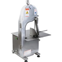 Fish meat bone band saw