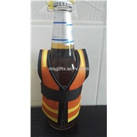 Neoprene Safety Vest Bottle Cooler