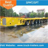 Self Propelled hydraulic modular trailer SPMT