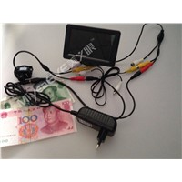 Counterfeit Bill Detector System with IR Mini Camera+4.3'' LCD Monitor,Fake Money Detector Kits