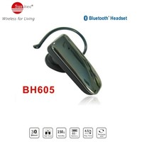 Universal Bluetooth Headsets & Wireless Headphones Earpiece with Clear Voice Capture Microphone